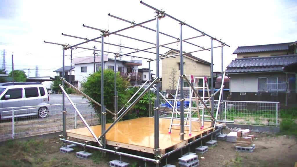 測定室建設中4