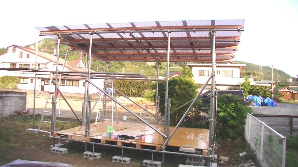 測定室建設中5