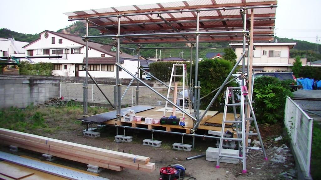 測定室建設中7